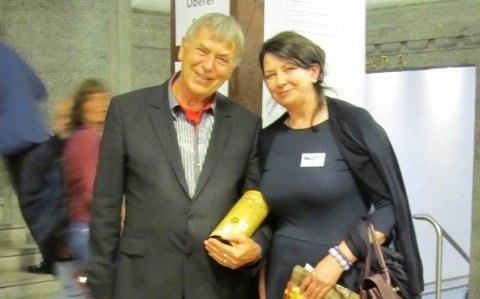 Alfreda Walkowska i Wighard Strehlow